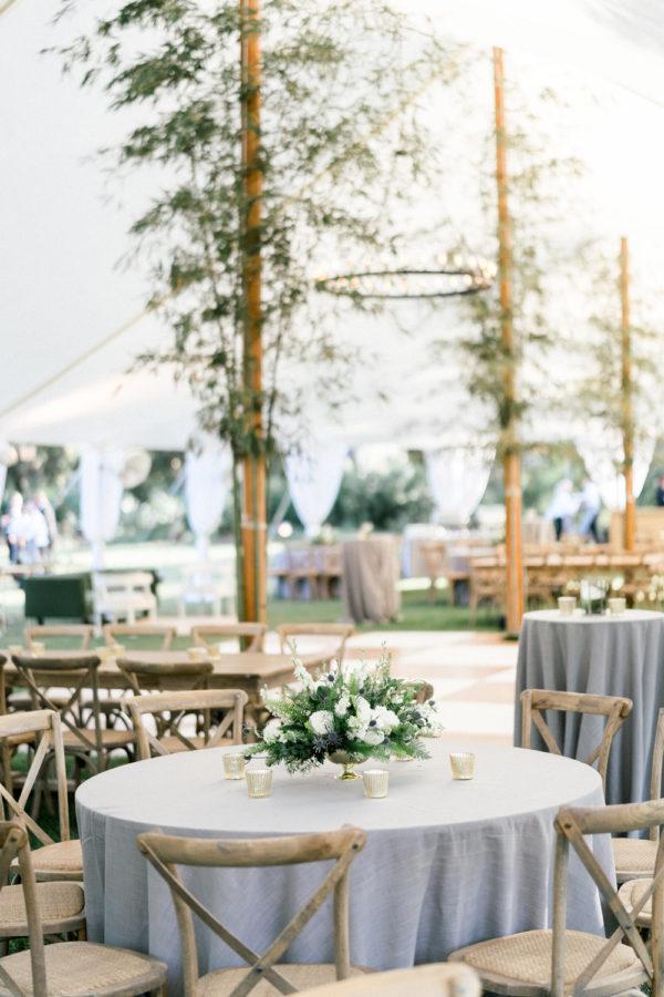 Airlie Gardens Spring Wedding